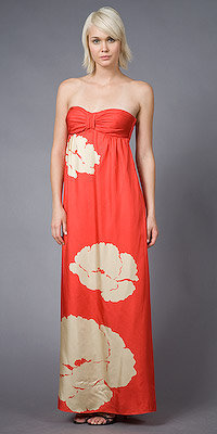Tibi Strapless Long Gowns