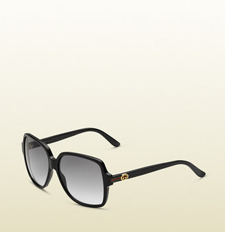 Gucci Trendy Large Square Shaped Sunglasses