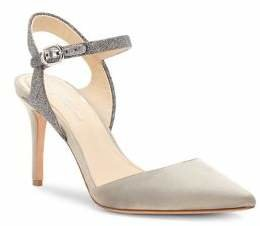 Vince Camuto Imagine Glora Satin And Suede Sandals
