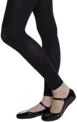 Wolford Velvet De Luxe Leggings - Black-Black
