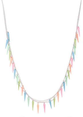 Delia's Neon Spikes Necklace