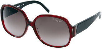 Karl Lagerfeld Square Frame Wide Sunglasses