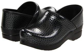 Dansko Professional Black Mosaic (Black) Women's Clog Shoes