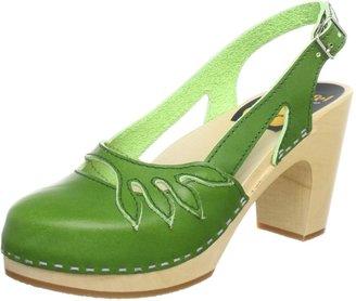 Swedish Hasbeens Poison Ivy Sandals Womens Green Grun (New Green) Size: 5 (38 EU)