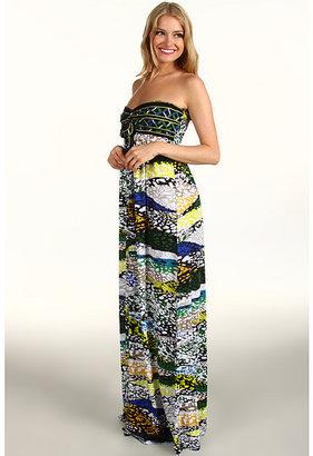 BCBGMAXAZRIA Cybele Strapless Jersey Maxi Dress