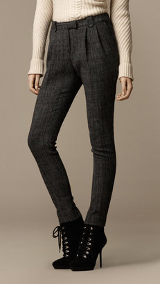 Burberry Tapered Military Trousers