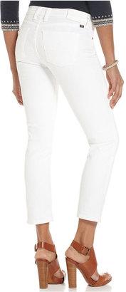 Lucky Brand Sofia Capri Jeans, White-Wash Cropped