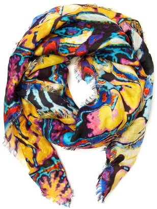 Christopher Kane brain scan scarf