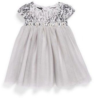 Biscotti Leopard Print Ballerina Dress (Baby Girls)