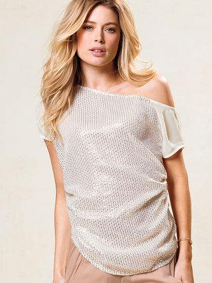 Victoria's Secret Off-the-Shoulder Sequin Blouse