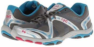 Ryka Influence (Steel Grey/Chrome Silver/Diver Blue/Zuma Pink) Women's Shoes