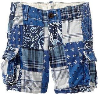 Gap Patchwork cargo shorts