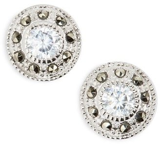Women's Judith Jack Pave Stud Earrings $55 thestylecure.com