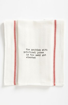 Second Nature By Hand 'Political Jokes' Towel