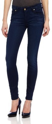 7 For All Mankind Women's Midrise Skinny Jean