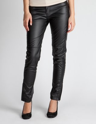 Charlotte Russe Faux Leather Skinny Pant