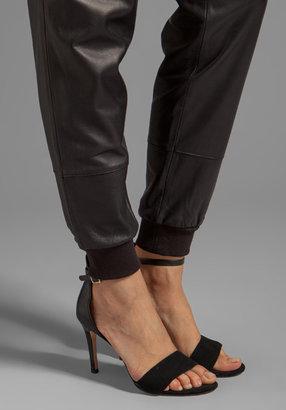 Elizabeth and James Kacey Leather Sweatpant