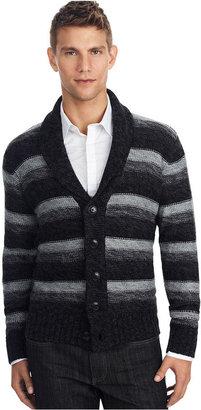 Kenneth Cole Reaction Sweater, Striped Shawl Cardigan