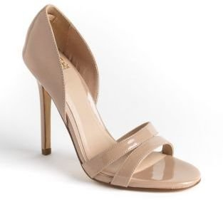 TRUTH OR DARE BY MADONNA Patent Leather Sandals