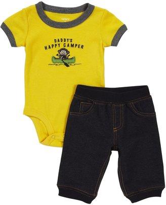 Carter's 2-pc S/S Bodysuit Set