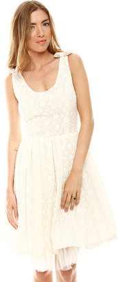 Patricia Del Castillo Bow Tank Dress
