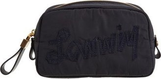 Lanvin Logo Cosmetic Pouch