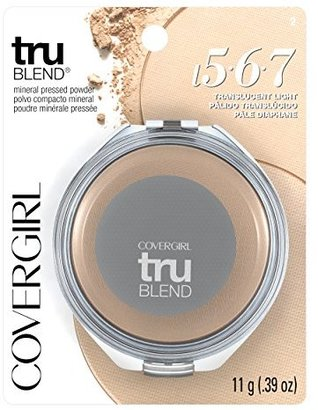 COVERGIRL truBlend Pressed Blendable Powder, Translucent Light .39 oz (11 g) $11.73 thestylecure.com