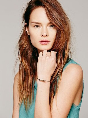 Free People Five and Two Claw Crystal Skinny Cuff