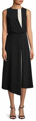 Marella Ceppo Faux Wrap Midi Dress