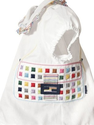 Fendi Sateen Baguette Dress