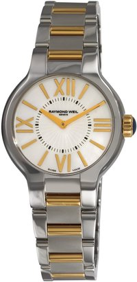 Raymond Weil Women's 5932-STP-00907 Noemia Two Tone Roman Numerals Dial Watch