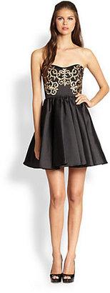 ABS by Allen Schwartz Bustier Dress