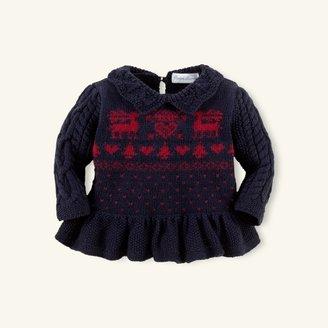 Cotton Reindeer Pullover