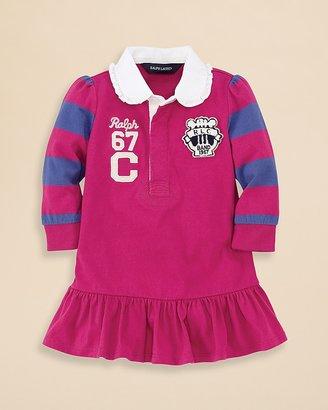 Ralph Lauren Infant Girls' Rugby Dress - Sizes 9-24 Months