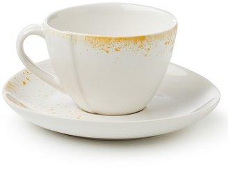Diane von Furstenberg Brushstroke Espresso Cup & Saucer, Set of 4