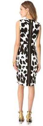 Versace Sleeveless Printed Dress