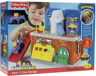 Fisher-Price Stow n' Tow Garage
