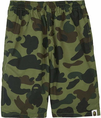 A Bathing Ape Camo print swim shorts 4-8 years