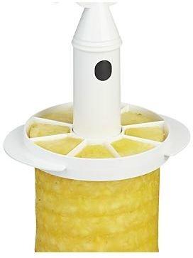Crate & Barrel Pineapple Corer-Slicer with Wedger