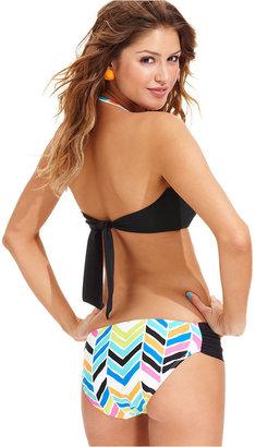 Raisins Swimsuit, Heart Bandeau Bikini Top