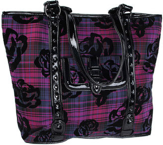 Betseyville by Betsey Johnson Handbags Handbags School Gal Tote, Purple 1 ea