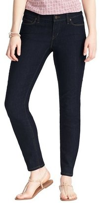 """LOFT Curvy Skinny Ankle Jeans in Rinse Wash with 27 1/2"""" Inseam"""