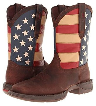 Durango DB5554 - Flag (Dark Brown) Cowboy Boots
