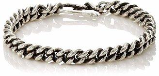 Dean Harris Men's Double-Curb-Chain Bracelet