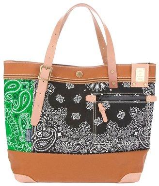 MASTERPIECE Master Piece Pattern Shopping Bag