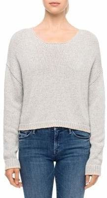 Line Knit Pullover Sweater