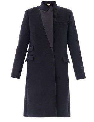 Stella McCartney Alexandra Duchess satin-lapel coat