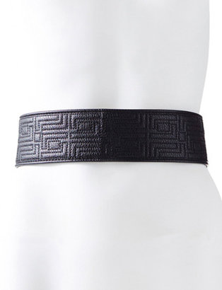 The Limited Trapunto Quilted Belt
