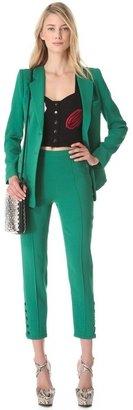 Sonia Rykiel Satin Crepe Jacket