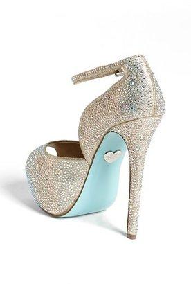 Betsey Johnson Blue by 'SB-Kiss' Sandal